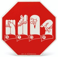 Traffic Signs for the Hearing Impaired (Stop)