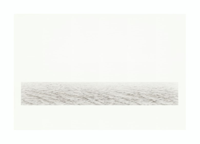 Vija Celmins (b. 1938), Long Ocean #5, 1972. Graphite on acrylic ground on paper. 29½ x 43⅝  in (74.9 x 110.8  cm). Estimate $1,500,000-2,000,000. Offered in the Post-War and Contemporary Art Afternoon Session on 14 November 2019 at Christie's in New York