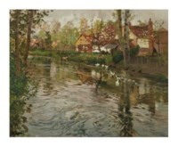 Spring on the River Somme