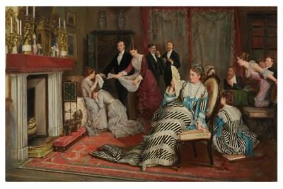 Eyre Crowe (British, 1824-1910