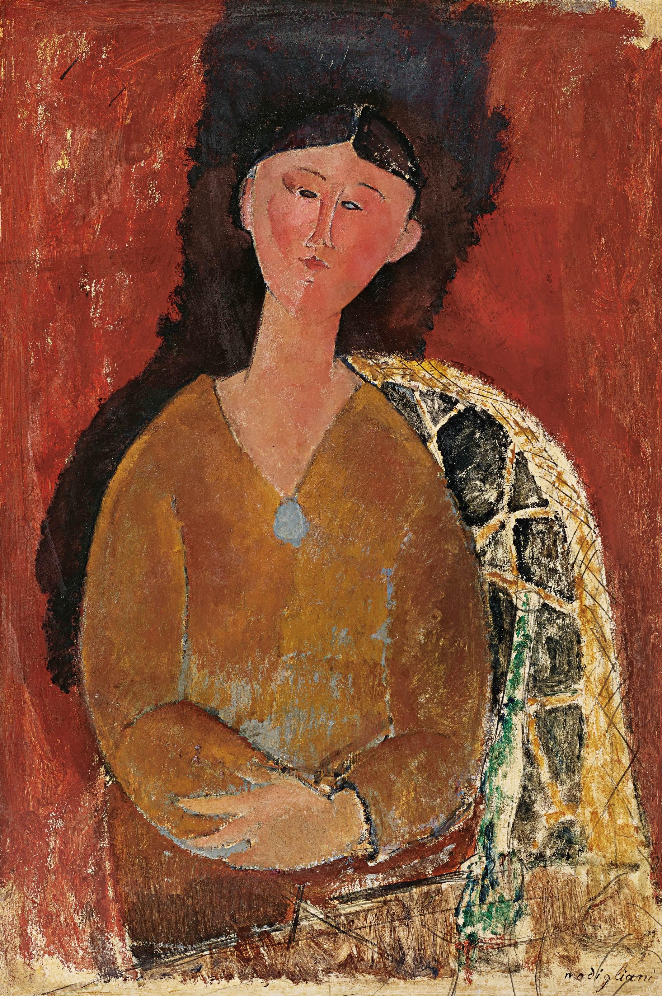 AMEDEO MODIGLIANI Beatrice Hastings - Auktionen & Preisarchiv