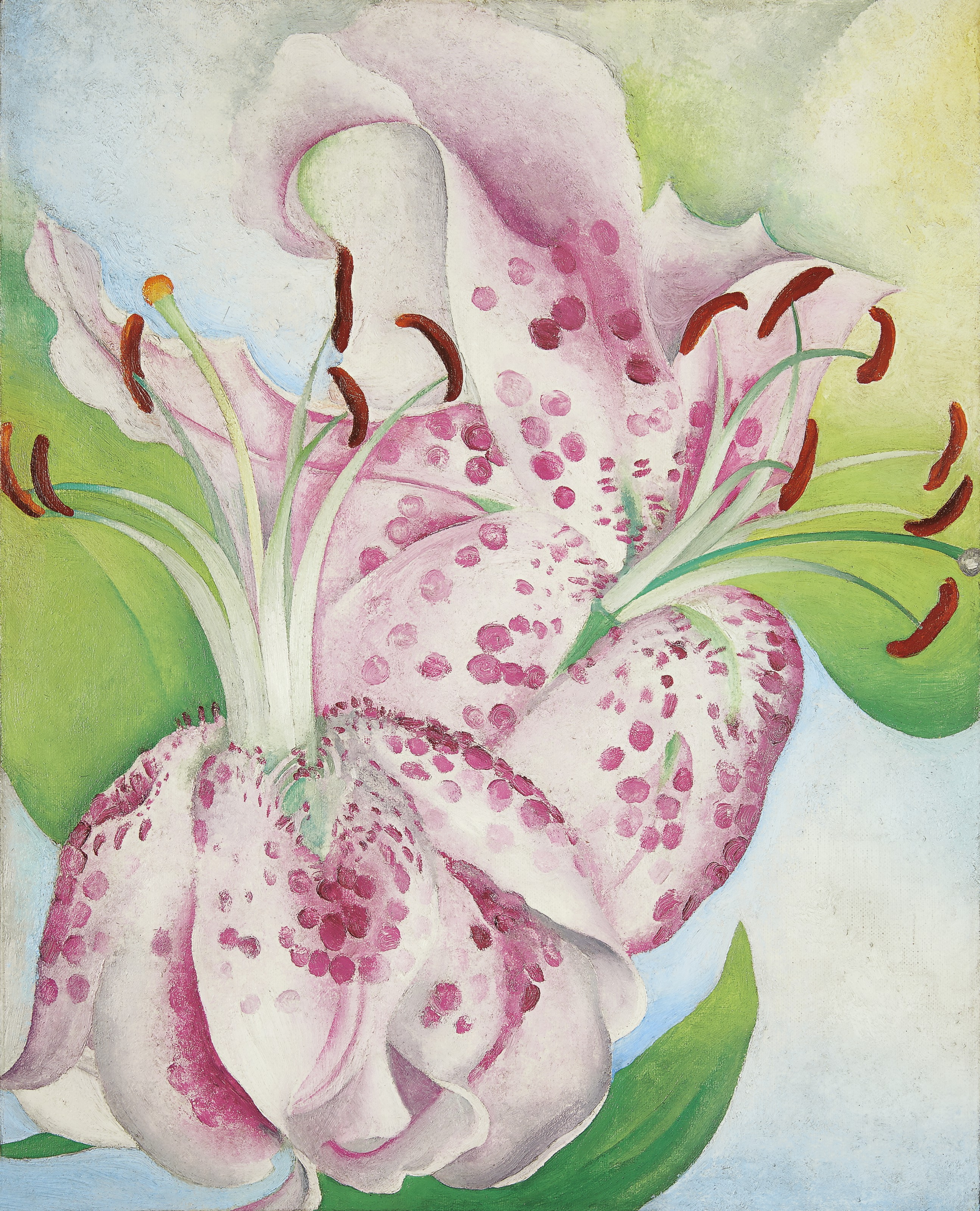 Georgia O'Keeffe (1887-1986) | Pink Spotted Lillies | 1930s, Paintings |  Christie's