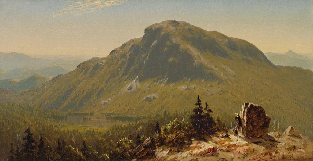 Sanford Robinson Gifford (1823-1880)  Mansfield Nose