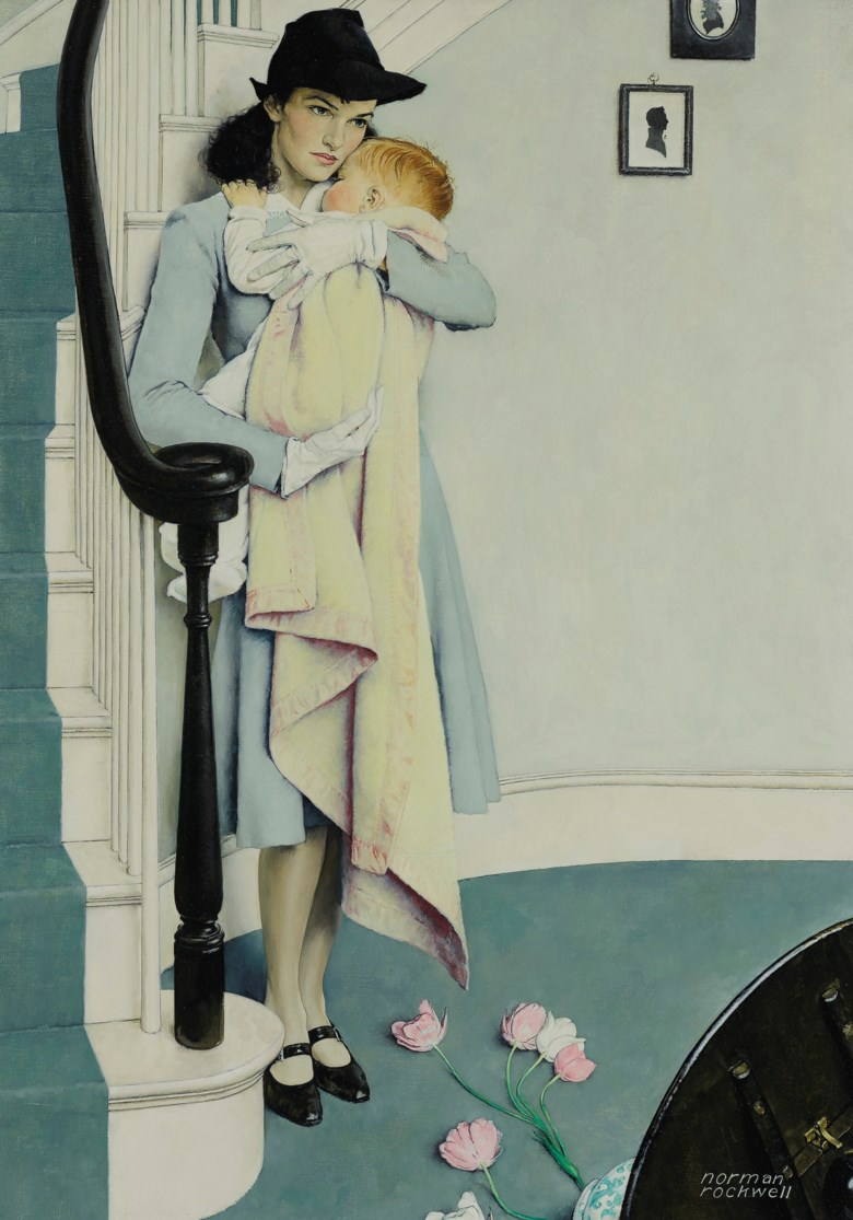 Norman Rockwell (1894-1978), Red Head, 1940. Oil on canvas. 37 x 26 in (94 x 66 cm). Estimate $600,000-800,000. Offered in American Art on 20 November 2019 at Christie's in New York