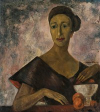 Portrait of Olga Tamayo