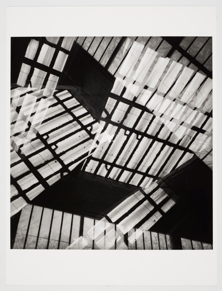 Geraldo de Barros (1923-1998), Untitled (Atelier de Vieira da Silva, France). Photographed in 1951. Printed in 1981. Gelatin silver print on paper. 15¾ x 12 in (40 x 30.5 cm). Estimate $1,500-2,000. Offered in Latin American Art Online, 16-26 November 2019, Online