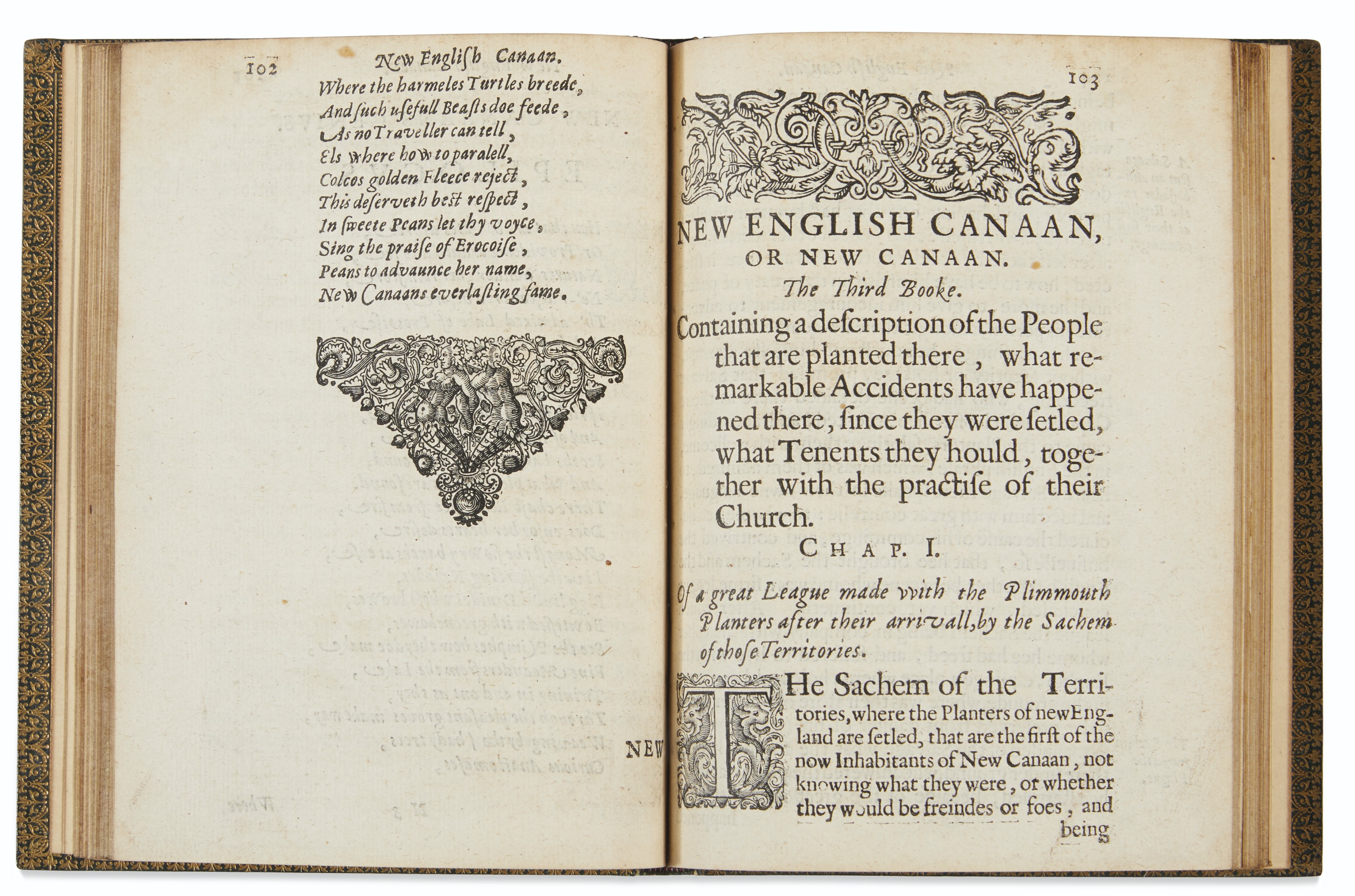 America's first banned book, lampooning the Puritans