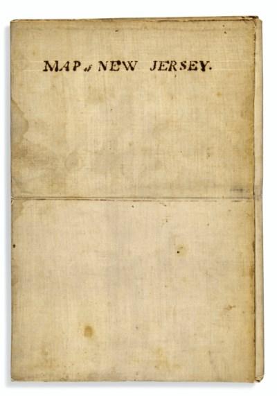 Manuscript Map of Revolutionar