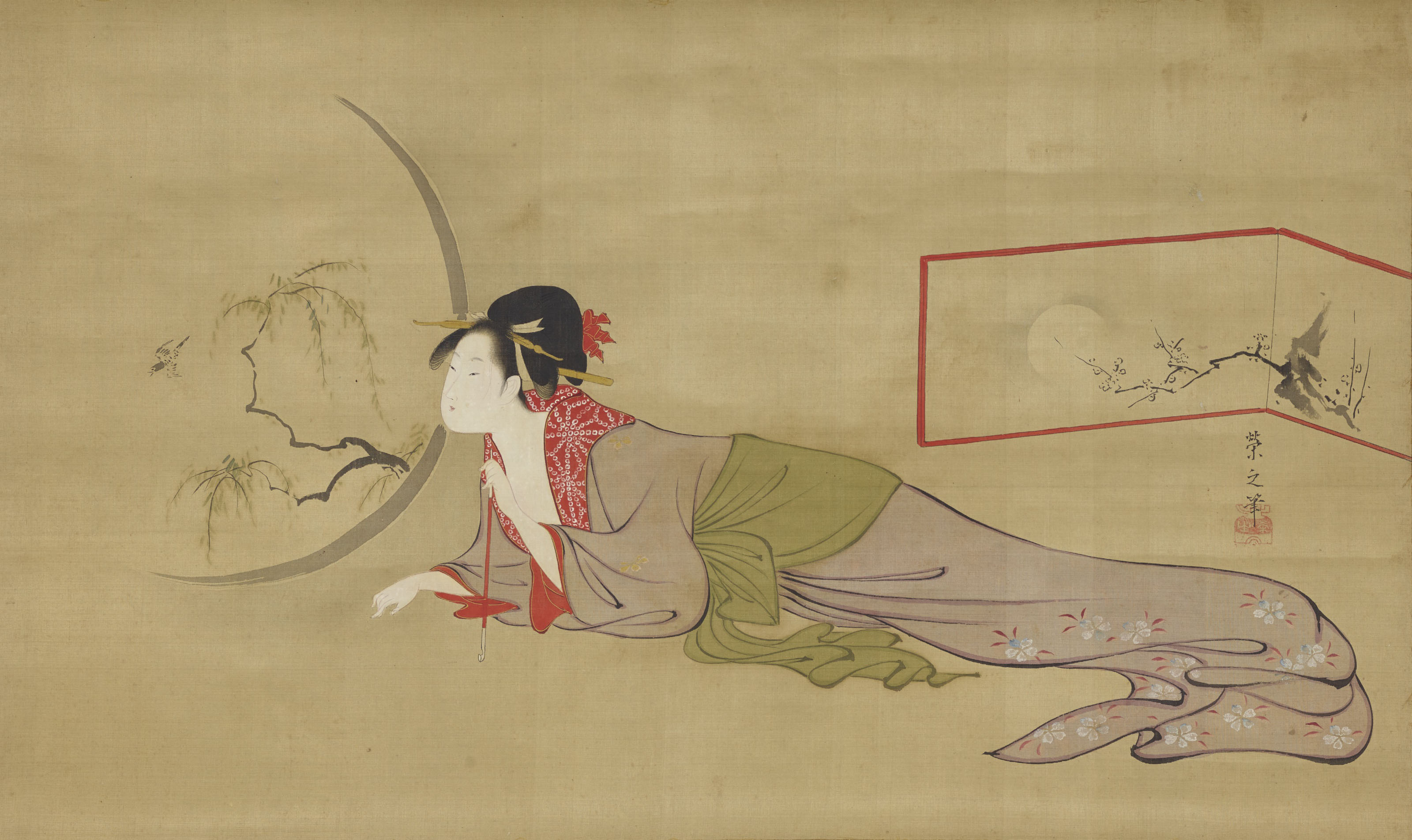CHOBUNSAI EISHI (JAPAN, 1756-1829)