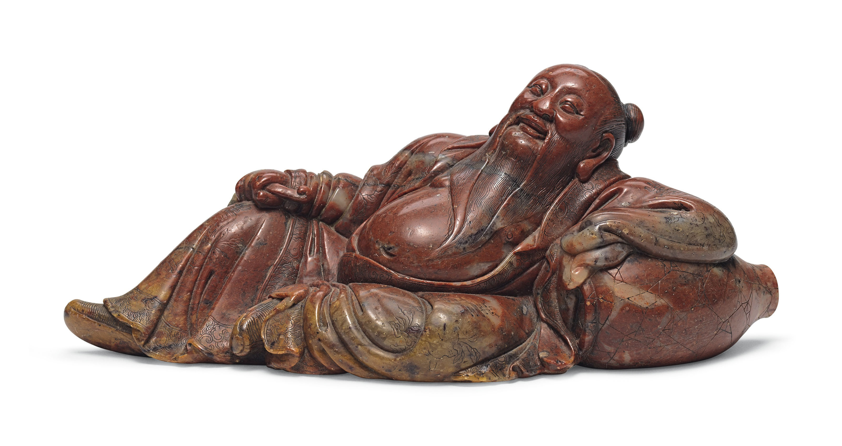 Logical Antique Figurine Hand Carved Chinese Walnut Shell Decorative Collectibles Other Decorative Collectibles