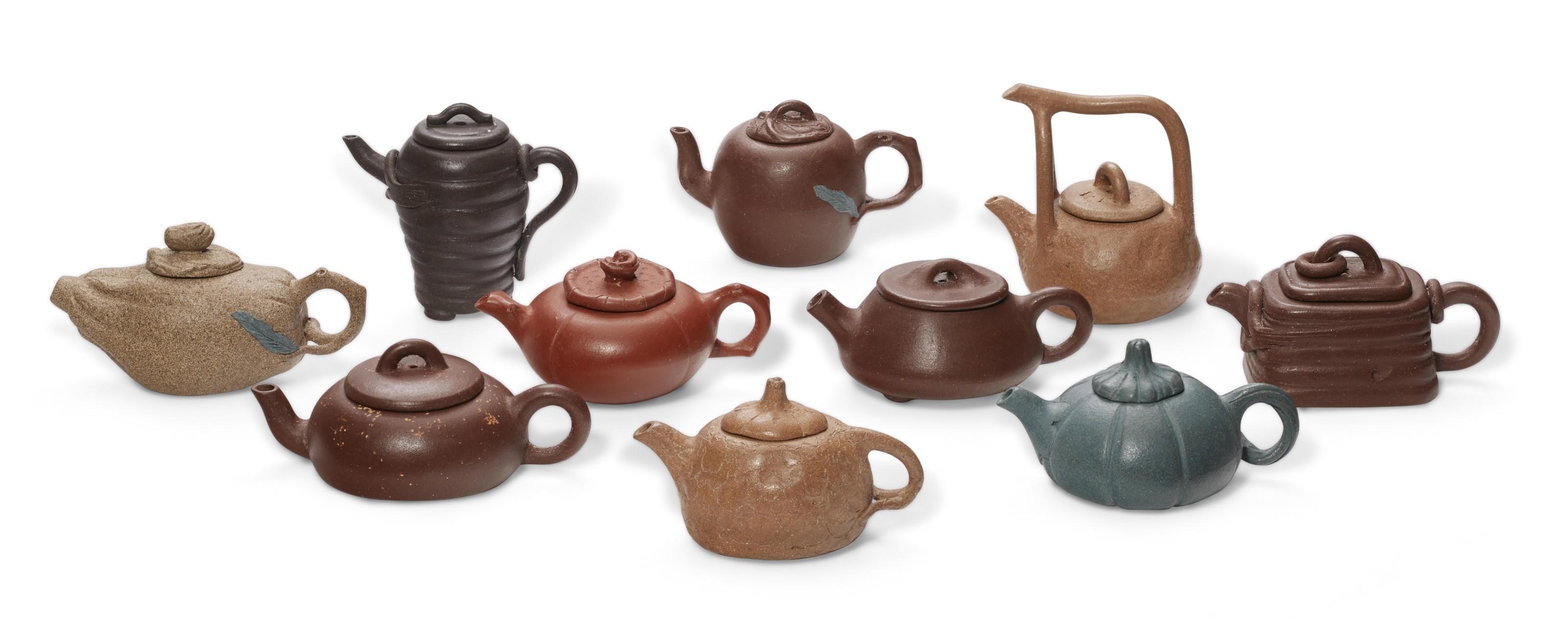 Chinese Yixing Ceramic Tea Pot signed