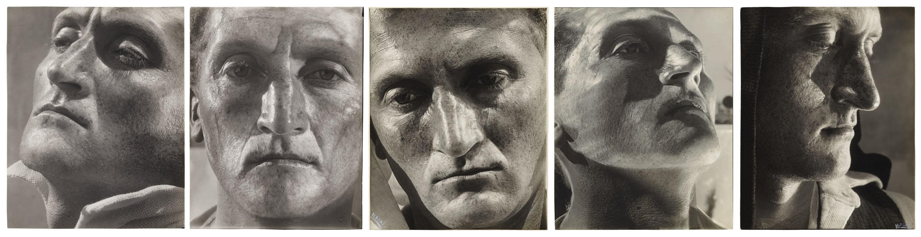 Five works from Metamorphosis Through Light, Tel Aviv, 1936