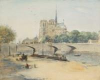 Notre Dame et le quai de la Tournelle