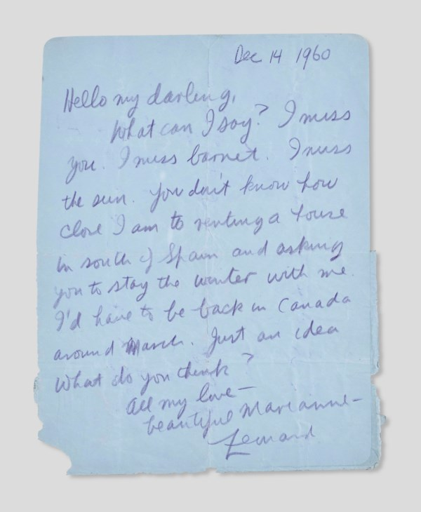 Letter To Someone You Love And Miss from www.christies.com