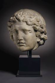 A MONUMENTAL ROMAN MARBLE PORT