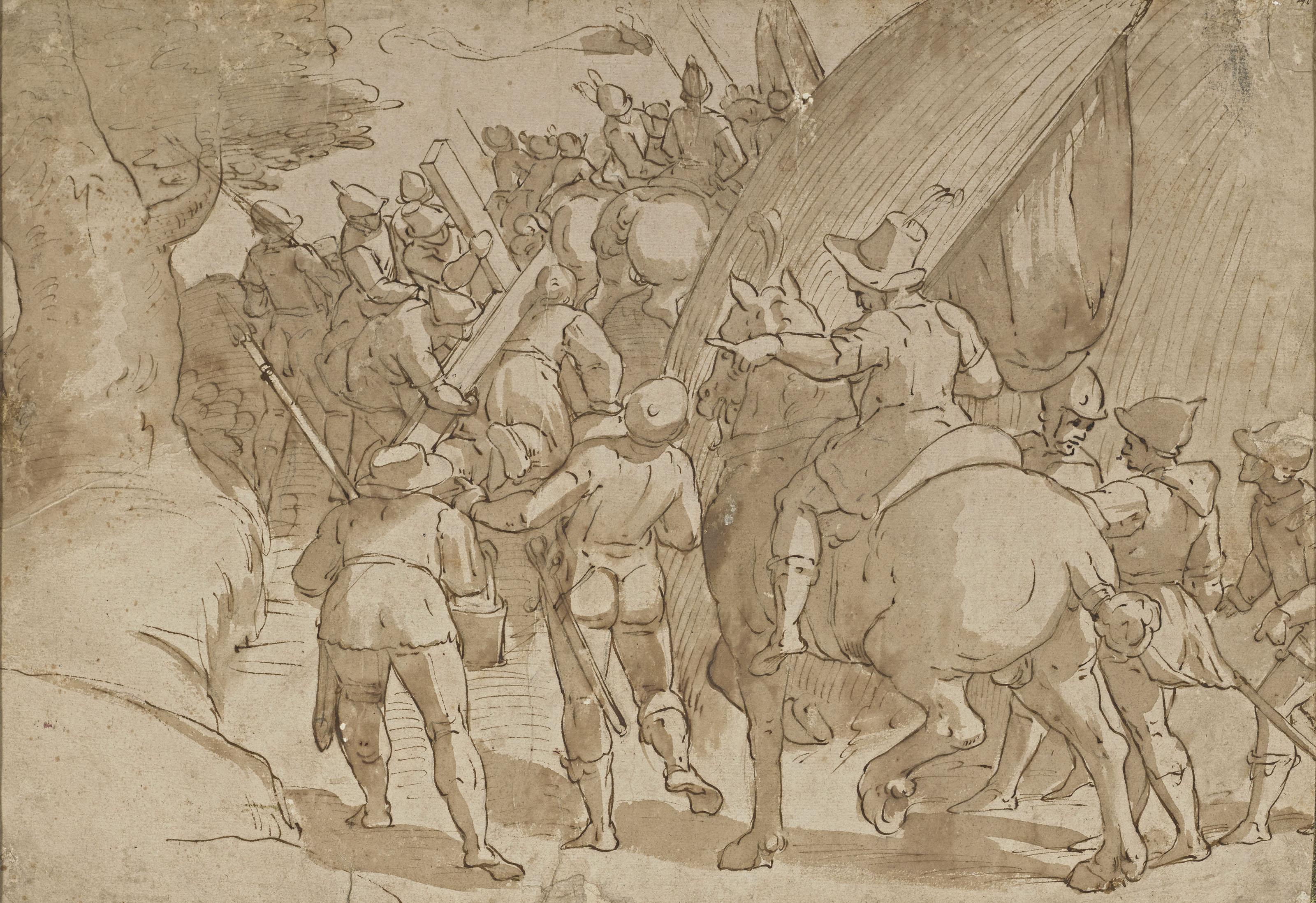 LAZZARO TAVARONE (GÈNES 1556-1641)