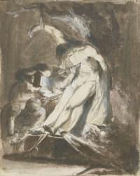 Saint Sébastien soigné par Sainte Irène et les saintes femmes