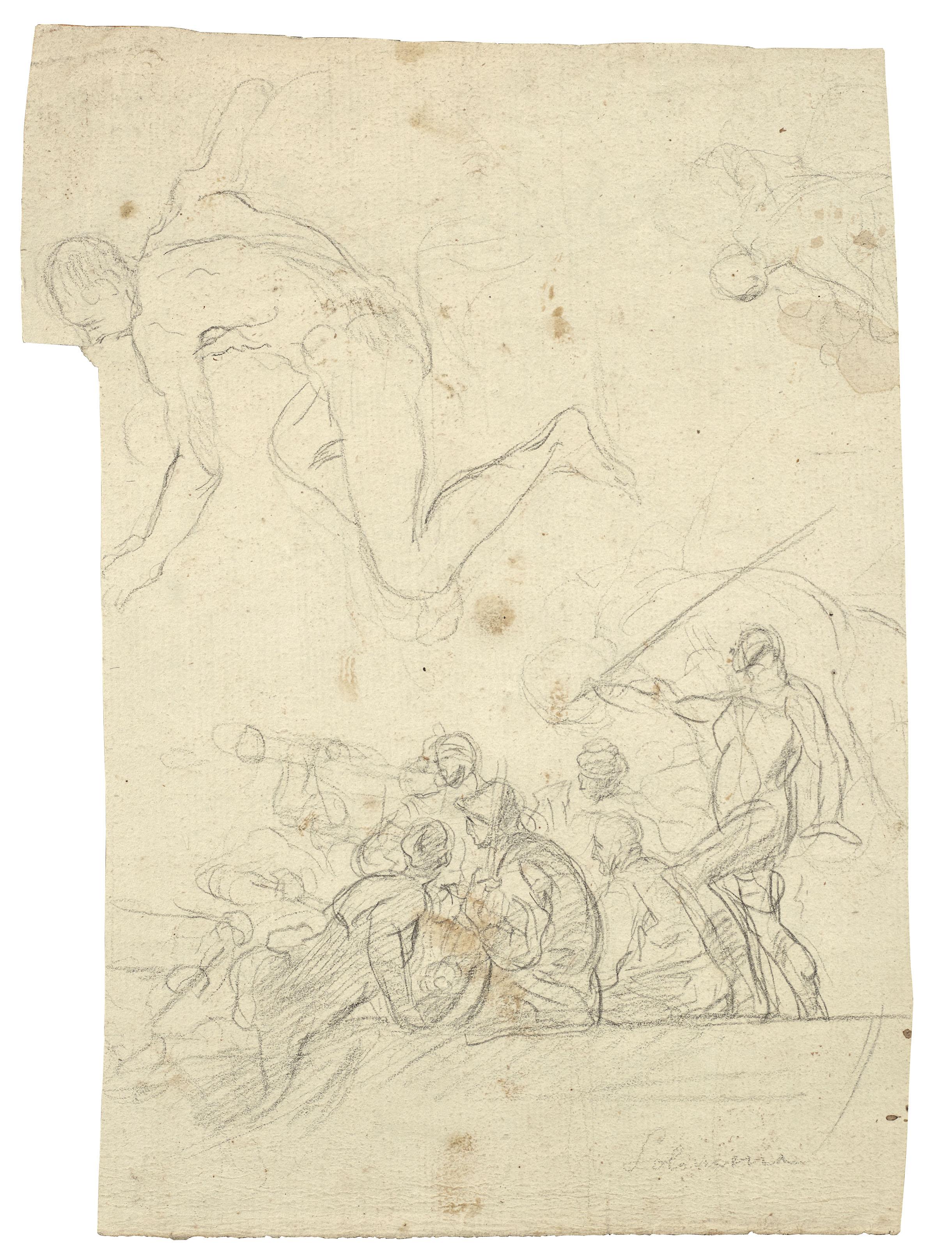 FRANCESCO SOLIMENA (CANALE DI SERINO 1657-1747 BARRA DI NAPOLI)