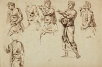Figures drapées d'après l'antique