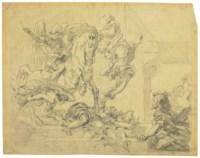 Héliodore chassé du temple