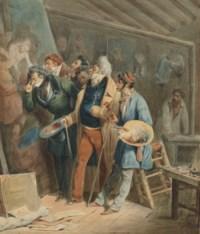 Les Importuns ou L'Atelier du peintre