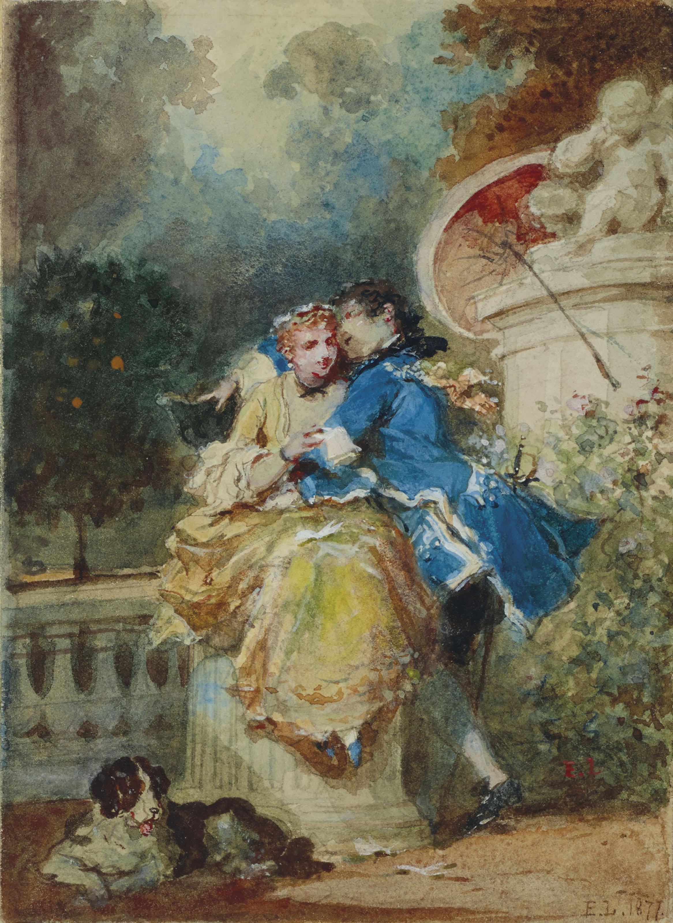 EUGÈNE-LOUIS LAMI (PARIS 1800-