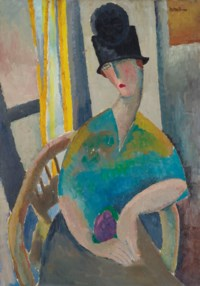 Femme au chapeau cloche