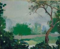 Jardin aux environs d'Étrépagny