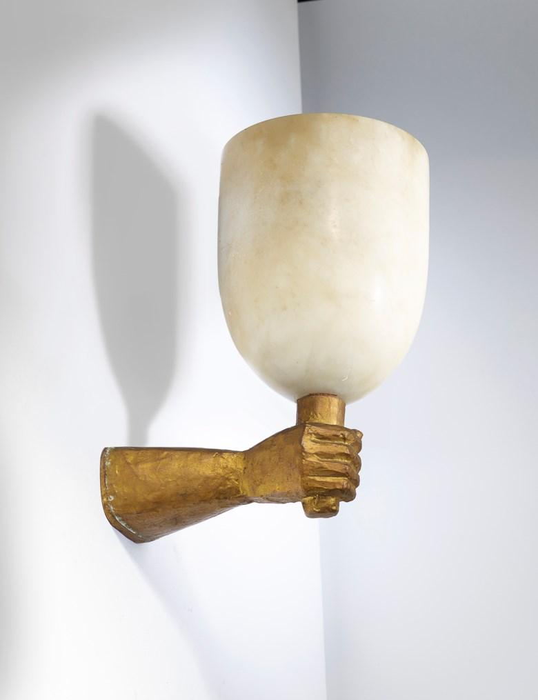Alberto Giacometti (1901-1966), Le Poing,model circa 1935, version circa 1939. Bronze, 26 x 21.5 x 14.5 cm  10 ¼ x 8 ½ x 5 ¾ in. Sold for €187,500 on 19 November 2019 at Christie's in Paris