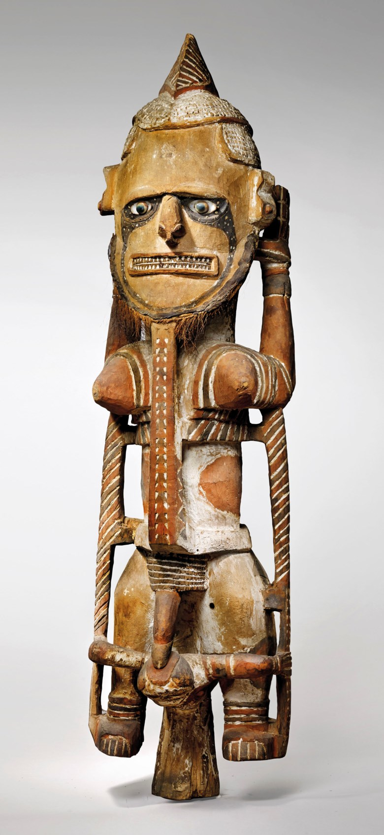 The Friedrich Wield Uli figure, New Ireland, Papua New Guinea. Height 133  cm (52⅜  in). Estimate €300,000-500,000. Offered in Art from Africa, Oceania and North America on 10 April 2019 at Christie's in Paris