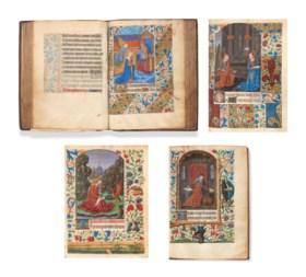 […]. HEURES à l'usage de Troyes. Langres, [ca 1480], manuscr