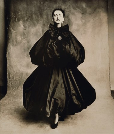Irving Penn (1917-2009), Balenciaga Evening Dress, Vogue, Paris, 1950. Image 43 x 35.7  cm (17 x 14  in). Estimate €15,000-20,000. Offered in Icons of Glamour & Style The Constantiner Collection on 19 June 2019 at Christie's in Paris