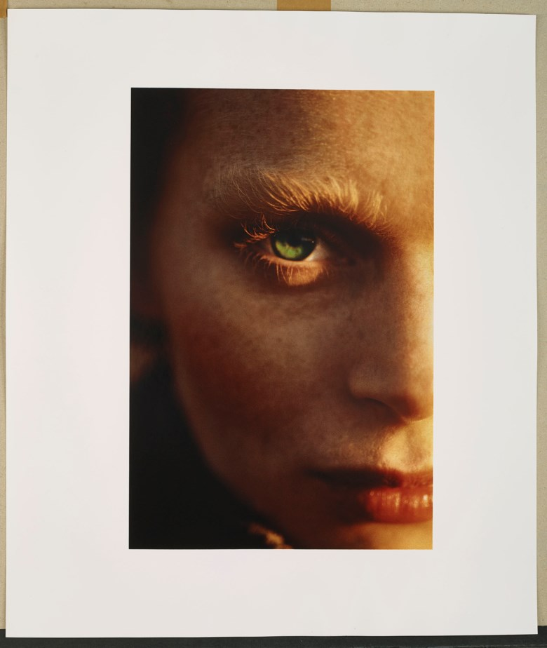 Hans Feurer (b. 1939), Golden Eye, 1986; Camera Work Portfolio, 1969-1986. Each sheet 57.5 x 48.5  cm (22⅝ x 19⅛  in). Estimate €12,000-18,000. Offered in Icons of Glamor & Style The Constantiner Collection on June 19 2019 at Christie's in Paris