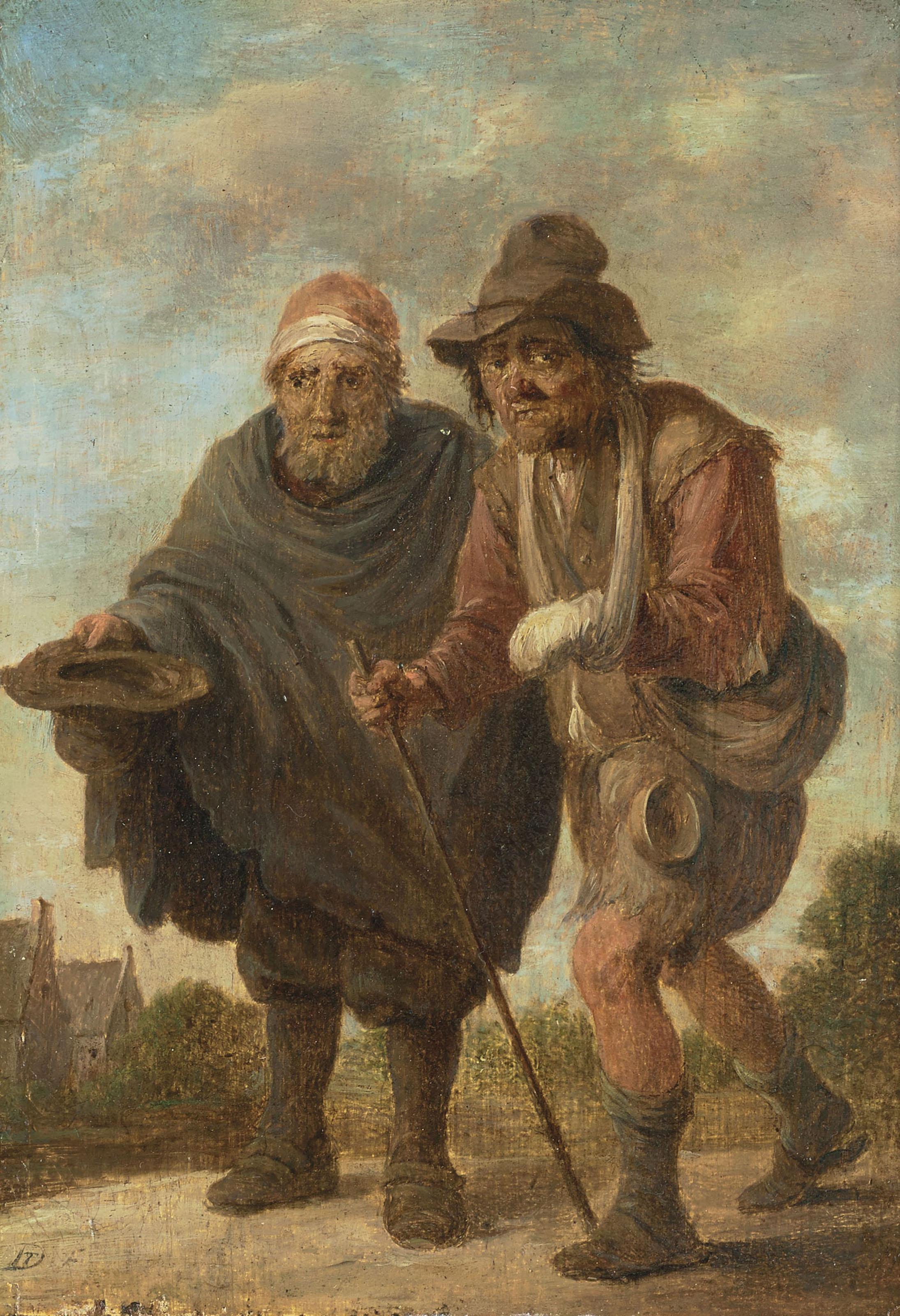 DAVID TENIERS LE JEUNE (ANVERS 1610 - 1690 BRUXELLES)