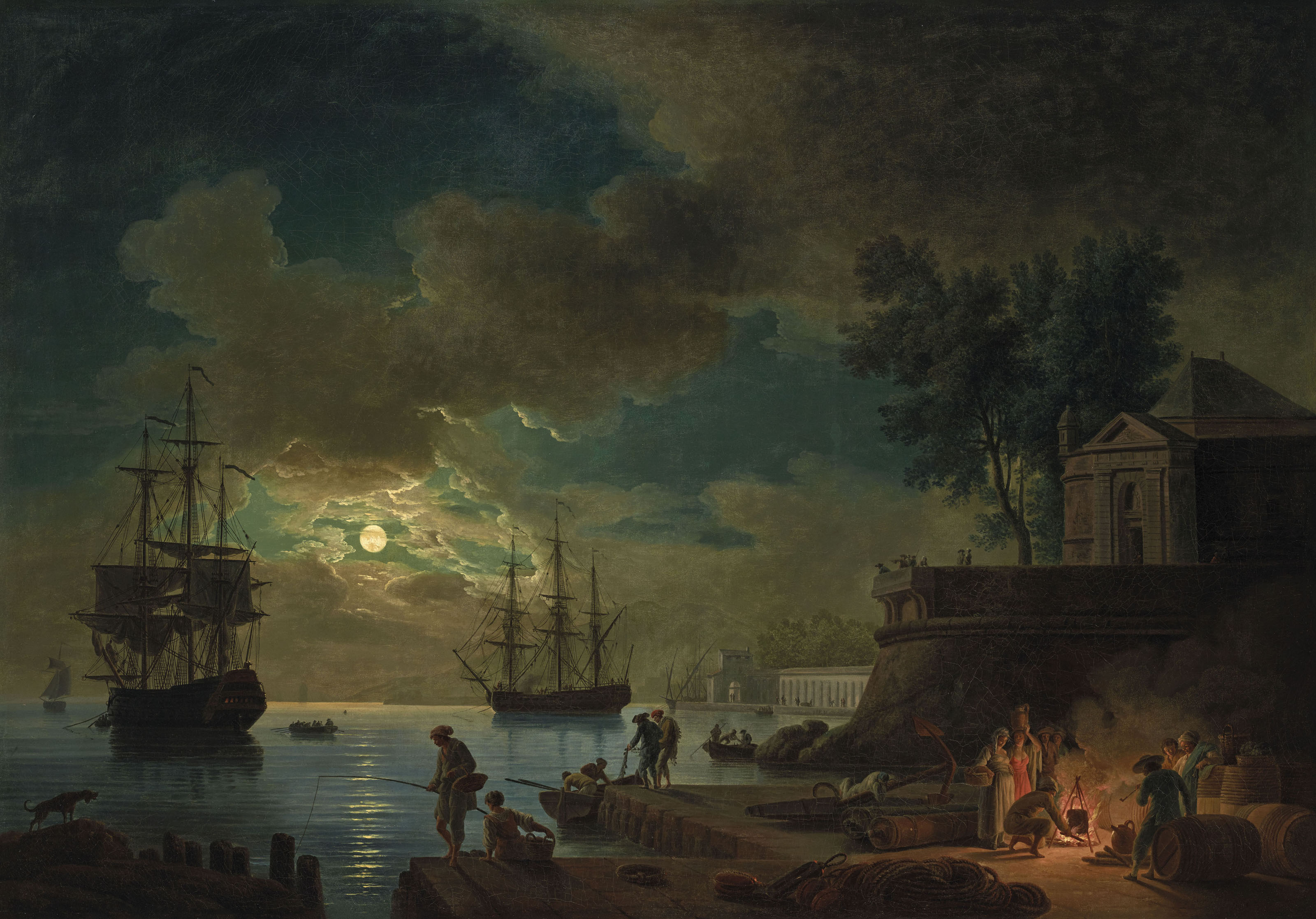 CLAUDE-JOSEPH VERNET (AVIGNON 1714 - 1789 PARIS)