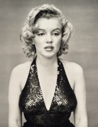 Marilyn Monroe, actress, New York city, 6 mai 1957
