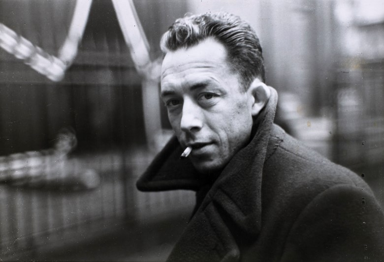 Henri Cartier-Bresson (1908-2004), Albert Camus, Paris, 1944. Imagesheet 16.8 x 24.7  cm (6⅝ x 9¾  in). Estimate €5,000-7,000. Offered in Photographies on 5 November 2019 at Christie's in Paris
