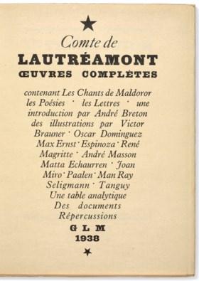 [BRETON, André] – Isidore Ducasse dit le COMTE DE LAUTRÉAMON