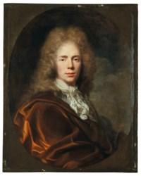 Portrait de jeune homme à l'habit brun