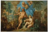Adam et Ève chassés du jardin d'Eden