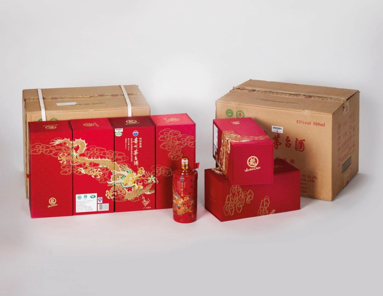 Jackie Chan Moutai 2013, 12 bottles (500ml) per lot. Estimate CNY 50,000-90,000. Offered in The Spirit Of China - Kweichow Moutai on 21 September 2019 at Christie's in Shanghai