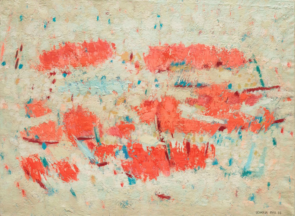 RHEE SEUNDJA (KOREA, 1918-2009)