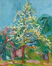 Blühender Baum, 1916