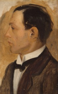 Portrait of Jack, the artist's brother