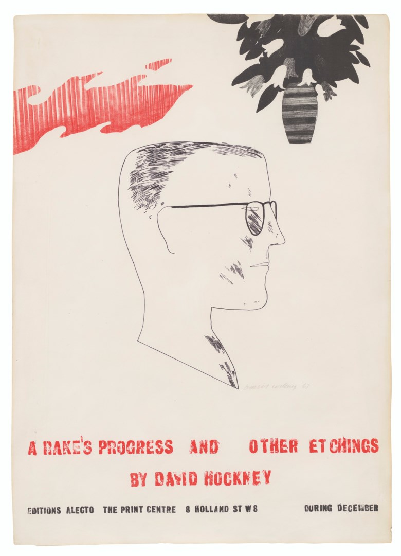 David Hockney (b. 1937), A Rakes Progress and Other Etchings by David Hockney. Image 29⅓ x 21⅔ in (74.5 x 54.8 cm), sheet 31⅓ x 22½ in (79.5 x 57 cm). Estimate £1,500-2,500. Offered in Prints & Multiples on 18 March 2020 at Christie's in London
