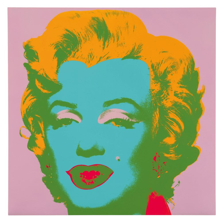 Andy Warhol (1928-1987), Marilyn Monroe, 1967. Screenprint in colours on wove paper, initialled and dated in pencil verso, stamp numbered 65250. 36 x 36 in (91.5 x 91.5 cm). Estimate £80,000-120,000. Offered in Prints & Multiples on 18 March 2020 at Christie's in London