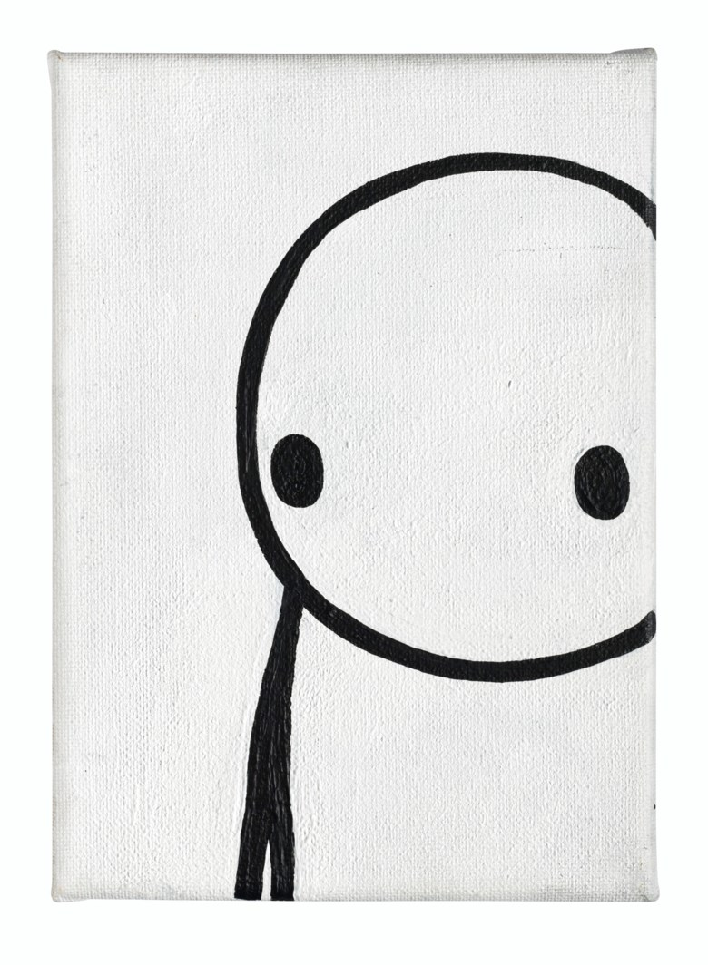 Stik (b. 1979), In Conversation (maquette), 2013. Acrylic on canvas. 8⅛ x 5⅞ x 4½ in (20.8 x 14.8 x 11.5 cm). Estimate £12,000-18,000. Offered in Prints & Multiples on 18 March 2020 at Christie's in London