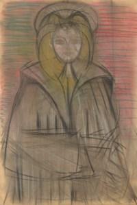 Autoportrait au manteau