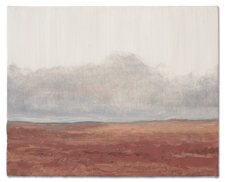 Lucas Arruda (b. 1983), Untitled, 2011. Oil on canvas. 9 ½ x 11⅞ in (24 x 30 cm). Estimate £50,000-70,000. Offered in Post-War and Contemporary Art Day Sale on 13 February 2020 at Christie's in London