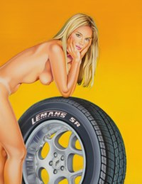 Tyra Tyre: The lost painting of 1965 #36